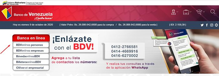 estados de cuenta banco de venezuela