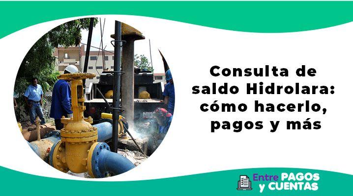 Consulta de saldo Hidrolara