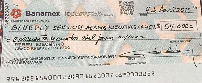 endoso de cheque banamex