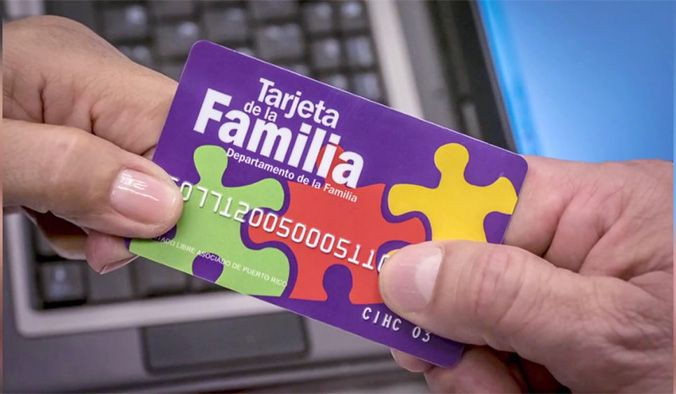 numero de telefono de la tarjeta de la familia puerto rico