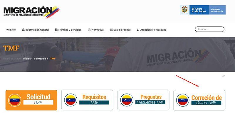 registro carnet fronterizo