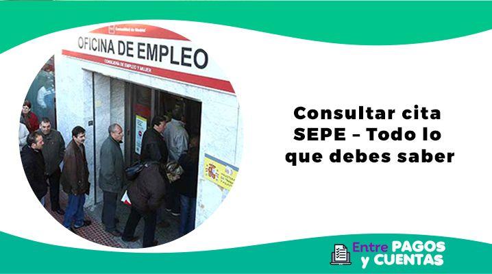 Consultar cita SEPE