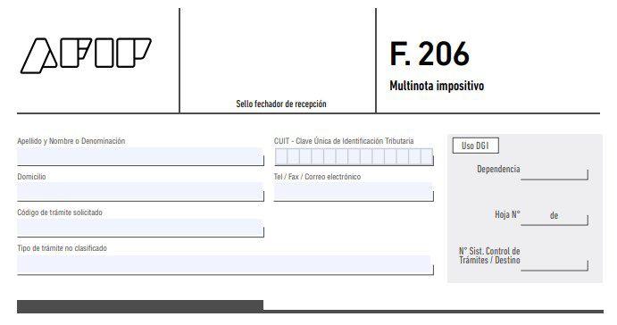 formulario 206