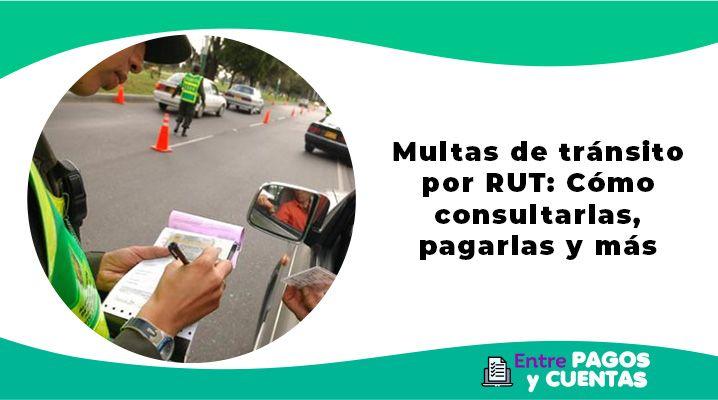 Multas de tránsito por RUT - Cómo consultarlas, pagarlas y más