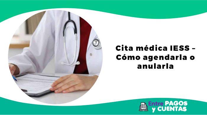 Cita médica IESS