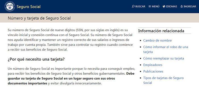 como puedo saber mi numero de seguro social