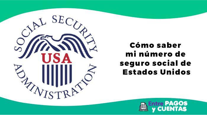 Cómo saber mi número de seguro social de Estados Unidos