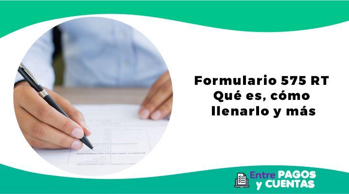Formulario 575 RT