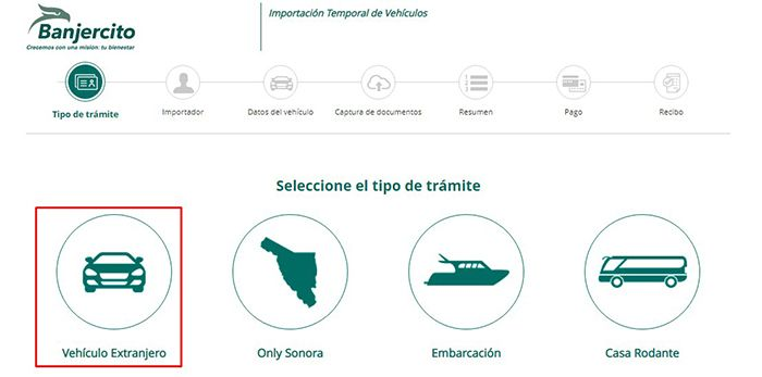sacar el permiso de carros fronterizos de manera online