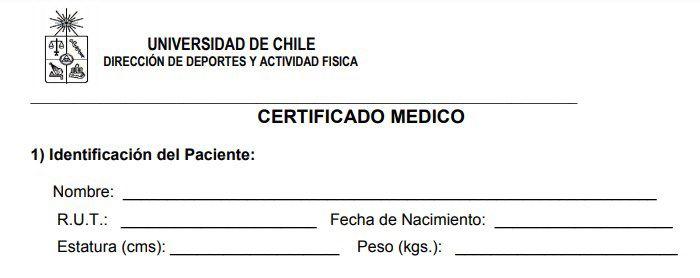 certificado medico chile en blanco