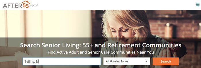 donde encontrar apartamentos para mayores de 55 años