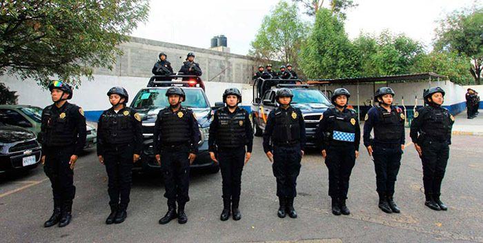funciones de un policía federal en mexico