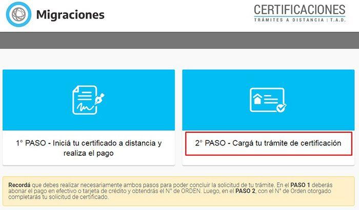 certificado de residencia argentina