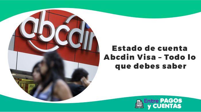 Estado de cuenta abcdin Visa